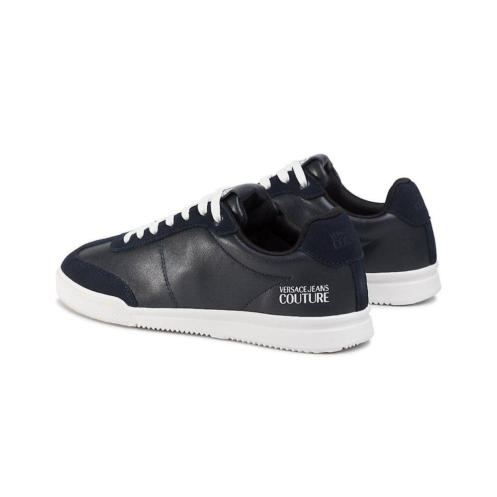 Versace Jeans Couture Cuir/suede Black Trainer