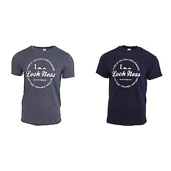 Unisex Loch Ness Kurzarm T-Shirt