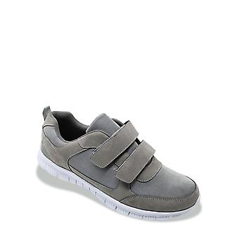 Cushion Walk Mens Wide Fit Trainer With Memory Foam