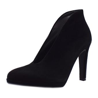 Peter Kaiser Haley Shoe Boot In Black Suede