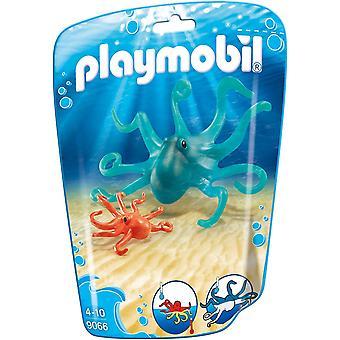 Playmobil 9066 Familie leuke octopus met baby