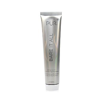 Pur (purminerals) Bare It All 12 Hour 4 In 1 Skin Perfecting Foundation - # Porselein - 45ml/1.5oz