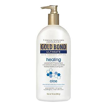 Gold bond ultimate healing skin lotion, aloe, 14 oz