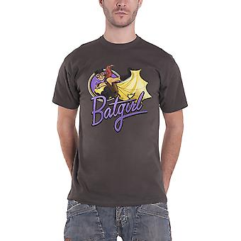 Batgirl T Shirt Bombshells Batgirl Badge new Official DC Comics Mens Charcoal