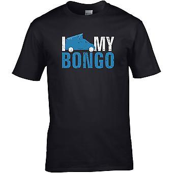Ich liebe meine Bongo Camper - - DTG gedruckt T-Shirt