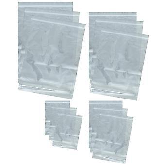 Web-tex Heavy Duty Reseable Poly Bag Set - 12 Pack