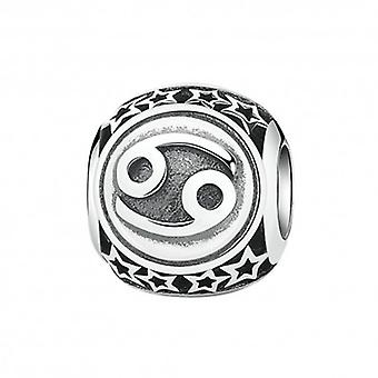 Sterling Silver Charm Zodiac Sign Cancer - 5423