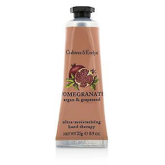 Pomegranate, argan & grapeseed ultra moisturising hand therapy 25g/0.9oz