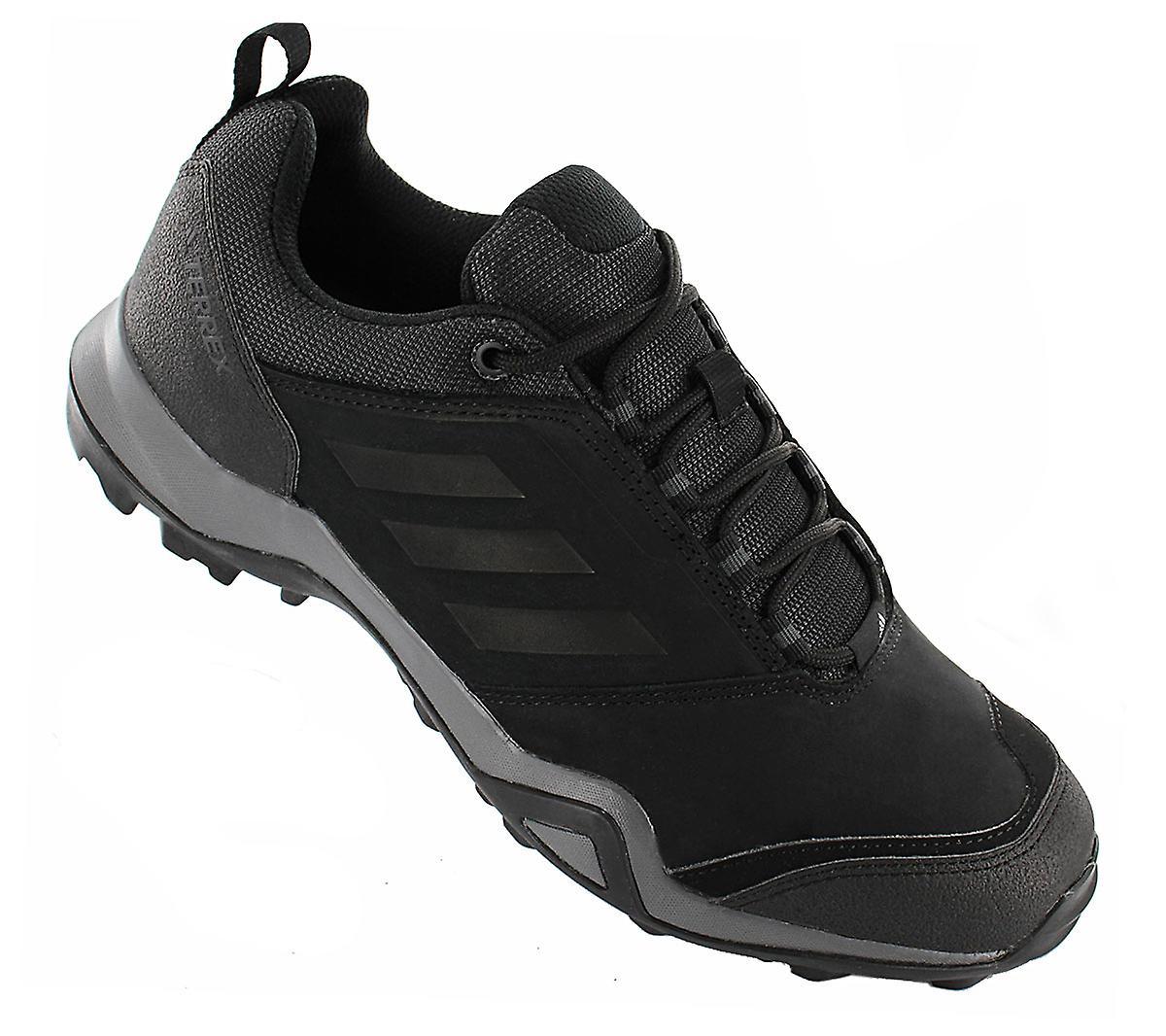 Adidas Terrex Brushwood Leather - Herren Trail-running Schuhe Schwarz Ac7851 Sneakers Sportschuhe