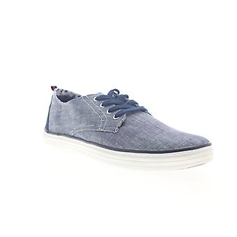 Ben Sherman Brahma Derby  Mens Blue Canvas Lifestyle Sneakers Shoes