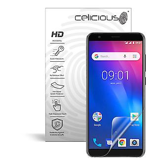 Celicious Vivid Invisible Glossy HD Screen Protector Film Compatible with Ulefone S1 [Pack of 2]