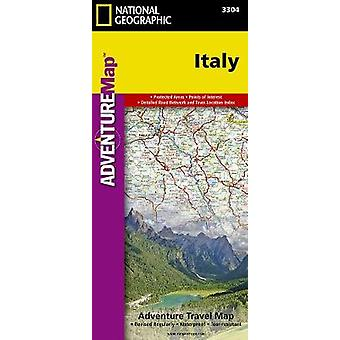 Italy  Travel Maps International Adventure Map by National Geographic Maps