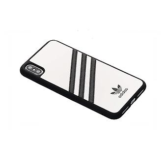Adidas 3 Stripes Snap Case iPhone XS Max - Wit
