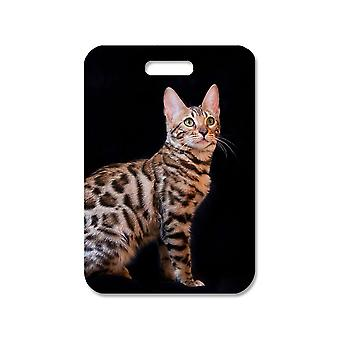 Cat Bengal Large Bag Pendant