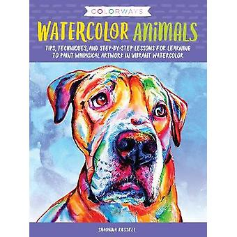 Colorways - Watercolor Animals - Tips - techniques - and step-by-step l