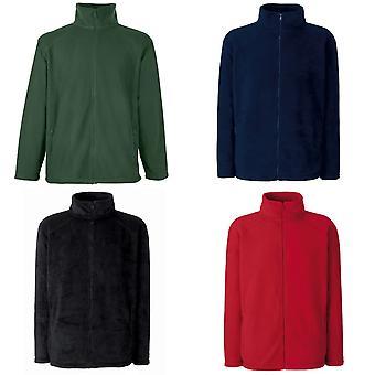 Vrucht van de Loom Womens/Ladies Lady-Fit Full Zip Fleece Jacket.