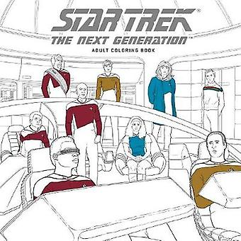 Star Trek The Next Generation Coloring Book by CBS