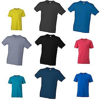 James and Nicholson Mens Slim Fit T-Shirt