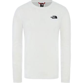 ノースフェイスレッドボックスT9493LFN4ユニバーサルオールイヤーメンズTシャツ