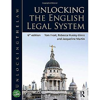 Unlocking the English Legal System by Tom Frost - 9780367277475 Book