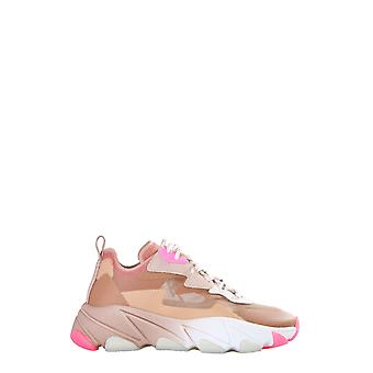 Ash Eclipse004 Kvinnor&Apos; s Beige Nylon Sneakers