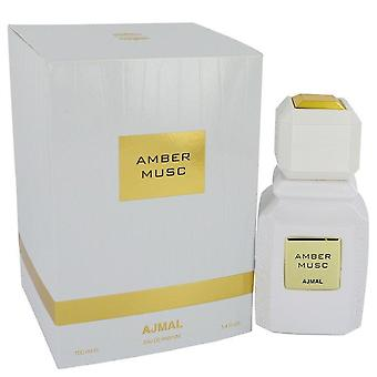 Ajmal Amber Musc Eau De Parfum Spray (Unisex) By Ajmal 3.4 oz Eau De Parfum Spray