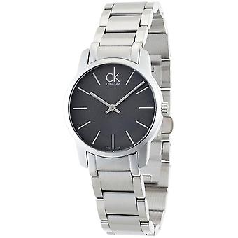 Calvin Klein K2G23161 City Grey Dial Steel Ladies Orologio