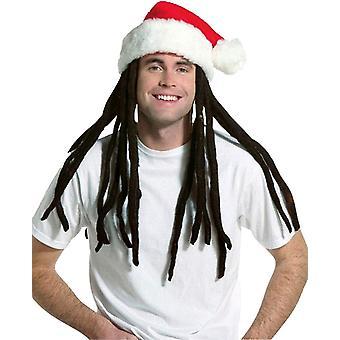 Rasta Santa W Dreadlocks For All