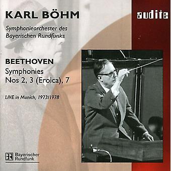 L. v. ベートーヴェン - ベートーヴェン: 交響曲第 2、3 (エロイカ) 7 [CD] アメリカ インポートします。