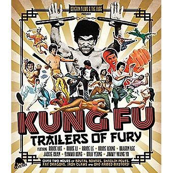 Kung Fu Trailers of Fury [Blu-ray] USA import