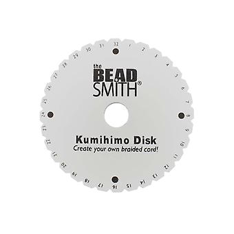 Disque rond Kumihimo, 15cm