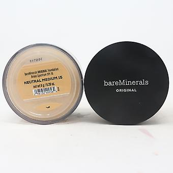 Bareminerals Original Loose Mineral Foundation Spf 15  0.28oz/8g New