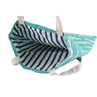 CGB Giftware Harbour Teal pesce Shopping Bag