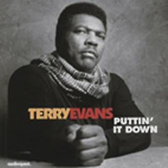 Terry Evans - Puttin It Down [CD] USA import