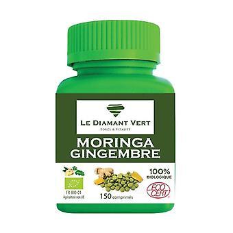 Moringa & organic ginger 150 tablets