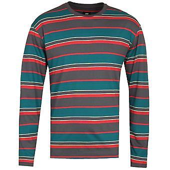 Edwin Multi Colour Stripe Long Sleeve T-Shirt