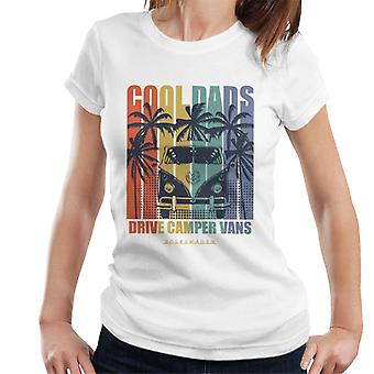 Volkswagen Cool Dads Drive Campervans Women's T-Shirt