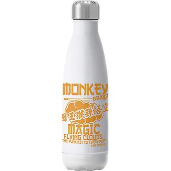 Monkey Magic Flying Clouds The Pukiest To Every Pop Insulated Stainless Steel Water Bottle