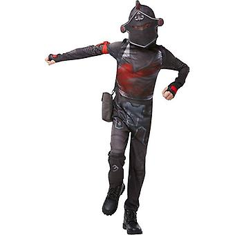 Frt- Black Knight Jumpsuit Twe
