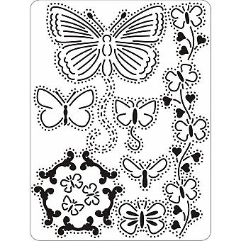 Pergamano Mini Grid 15 Butterflies