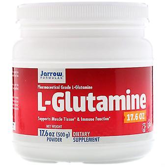 Formules Jarrow, Poudre de L-Glutamine, 17,6 oz (500 g)
