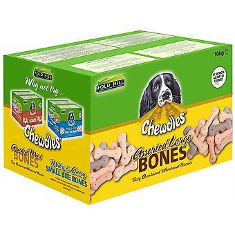 Chewdles Assorted Big Bones - 10kg