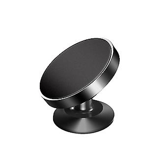 Alloy Suction Cup Type Magnetic Suction Car Phone Stand Black