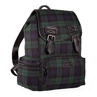 Banned Kenneth Tartan Backpack