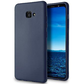 Soft Shell monocolore pour Samsung Galaxy A3 (2017) Mobile Shell L Navy Blue