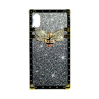 Phone Case Eye-Trunk Bee GG For iPhone XS (Black)