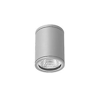 LED Outdoor Surface Mounted Wall Light Grey IP54