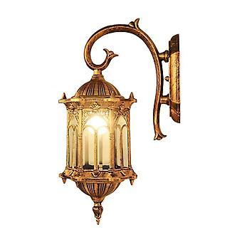 Lampada luminosa da parete esterna - Impermeabile, illuminazione esterna della porta del giardino
