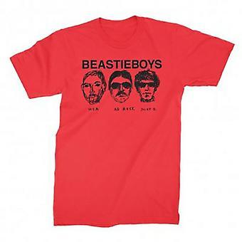 Beastie Boys Faces T-paita