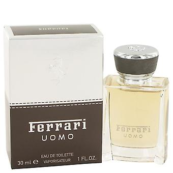 Ferrari Uomo Eau De Toilette Spray pela Ferrari 1 oz Eau De Toilette Spray